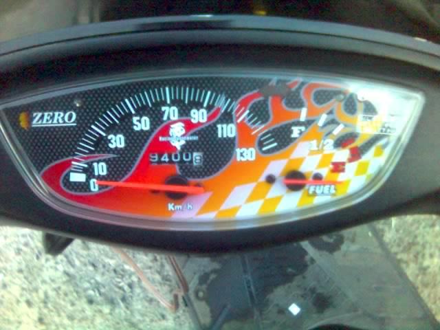 Приборка Honda Dio ZX AF35.  Наж…